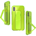 CLCKR Gripcase Neon Seasonal FW19 for iPhone X/Xs neon yellow