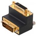 DeLock Adapter DVI 24+5 Bu > DVI 24+5 St 90° gewinkelt