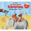 Der kleine Drache Kokosnuss bei den wilden Tieren Ungekürzte Lesung, Inszenierte Lesung mit Musik Hörbuch
