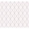 Designdschungel Vliestapete Tapete im skandinavischen Design metallic rosa 10,05 m x 0,53 m