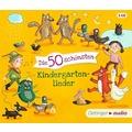 Die 50 schönsten Kindergartenlieder Hörbuch