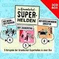 Die Grundschul-Superhelden 3-CD-Box Vol. 2 Hörspiel