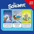Die Schlümpfe - 3-CD Hörspielbox Vol. 1 Hörbuch