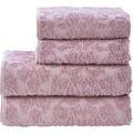 done.® Provence Ornaments 4pcs. Handtuch Set  Old Rosé