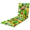 doppler Auflage Gartenliege Living de Luxe ca. 195x60x6 cm D