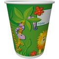 Duni Becher Pappe  20 cl Motiv  10 Stück Jungle Friends
