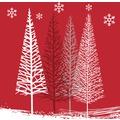 Duni Cocktail - Servietten Winter Trees 24 x 24 cm 20 St.