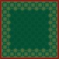Duni Dunicel-Mitteldecken Xmas Deco Green 84 x 84 cm 20 Stück