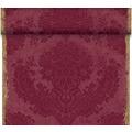 Duni Dunicel-Tischläufer Tête-à-Tête Royal Bordeaux 24 x 0,4 m 20 Abschnitte je 1,20 m lang, 40cm breit, perforiert 1 Stück