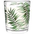 Duni Kerzengläser ca. 30 Std Brenndauer Palm Leaf ø 7 cm 1 Stück