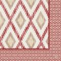 Duni Klassik-Servietten Motiv Malina bordeaux 40x40 cm 4lagig, geprägt 1/4 Falz 50 St.