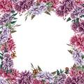 Duni Mitteldecke Motiv Dahlias 84 x 84 cm 1 Stück