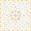 Duni Mitteldecke X-Mas Deco Cream 84 x 84 cm