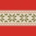 Duni Zelltuch-Servietten Urban Yule Red 33x33 cm 3lagig, 1/4 Falz 250 Stück