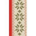 Duni Zelltuch-Servietten Urban Yule Red 40x40 cm 3lagig, 1/8 Falz 250 Stück