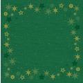 Duni Dunicel-Mitteldecken 84 x 84 cm Star Stories Green