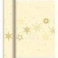 Duni Dunicel-Tischläufer Tête-à-Tête 24 m x 0,4 m (20 Abschnitte) Star Stories Cream