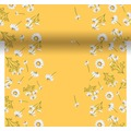 Duni Dunicel® Tischläufer 3 in 1 Pretty Daisy Yellow 0,4 x 4,80 m 1 Stück