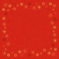 Duni Dunisilk-Mitteldecken 84 x 84 cm Star Stories Red