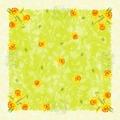 Duni DuniSilk®+ Mitteldecke Spring Flowers 84x84 cm 20 Stück