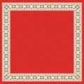 Duni DuniSilk®+ Mitteldecken Urban Yule Red 84x84 cm 20 Stück