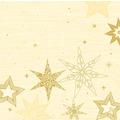Duni Dunisoft-Servietten 40 x 40 cm Star Stories Cream