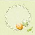 Duni Dunisoft-Servietten Easter Pasture 40 x 40 cm 60 Stück