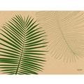 Duni Graspapier Tischset Leaf (Graspapier) 30 x 40 cm 250 Stück