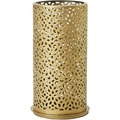 Duni Kerzenhalter Bliss gold, aus Metall für Maxi-Teelichter oder LED 140x75mm 4er-Set