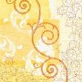 Duni Klassik-Servietten Ornare 40x40 cm 4lagig, geprägt, 1/4 Falz 50 Stück