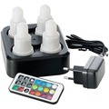 Duni LED Station 4er Set Multicolour