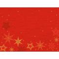 Duni Papier-Tischsets 30 x 40 cm Star Stories Red