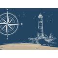 Duni Papier-Tischsets Küste & Meer 30 x 40 cm 250 Stück