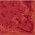 Duni Servietten Dunisoft® Charm Bordeaux 40 x 40 cm 12 Stück