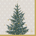 Duni Servietten Tissue 33 x 33 cm Trees in Gold 20er Pack