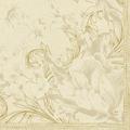 Duni Servietten Tissue Charm Cream 33 x 33 cm 20 Stück