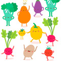 Duni Servietten Tissue Happy veggies 33 x 33 cm 20 Stück