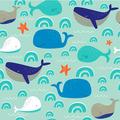 Duni Servietten Tissue Whales 33 x 33 cm 20 Stück