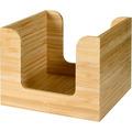 Duni Serviettenständer für ca. 50 St. Bambus 11 x 11 cm 1 Stück, 13,7 cm