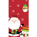 Duni Tischdecken Dunicel® 138 x 220 cm Winter Santa Fun 1er Pack