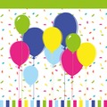 Duni Tissue Servietten 33 x 33 cm Balloons & Confetti, 20 Stück