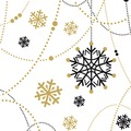 Duni Tissue Servietten Snow Necklace White 24 x 24 cm 20 Stück