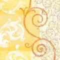 Duni Zelltuch Servietten Ornare 33x33 cm 3lagig, 1/4 Falz 250 Stück