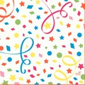 Duni Zelltuchservietten Confetti 33 x 33 cm 1/4 Falz 250 Stück