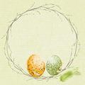 Duni Zelltuchservietten Easter Pasture 33 x 33 cm 50 Stück