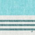 Duni Zelltuchservietten Raya blue 33 x 33 cm 1/4 Falz 250 Stück