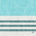 Duni Zelltuchservietten Raya blue 33 x 33 cm 1/4 Falz 50 Stück