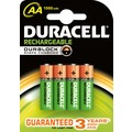 Duracell Akku NiMH, Mignon, AA, HR06, 1.2V/1300mAh StayCharged, Retail Blister (4-Pack)