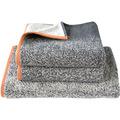 Dyckhoff Frottierserie Gradient graphit-koralle Handtuch 50 x 100 cm, 6 Stück