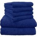 Dyckhoff Handtuch Brillant, blau 50x100 cm